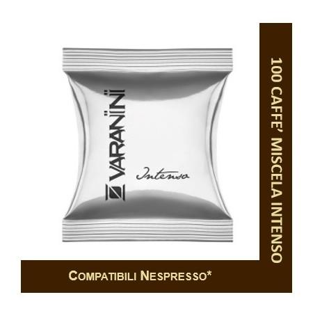 BLEND INTENSE - 100 CAPSULES COMPATIBLE NESPRESSO VARANINI