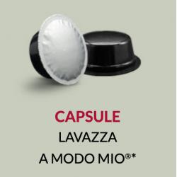 CAPSULES COMPATIBLES LAVAZZA A MODO MIO*
