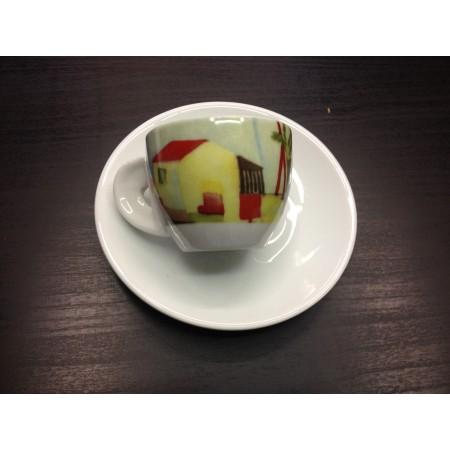 CUP PASTEL - COFFEE VARANINI